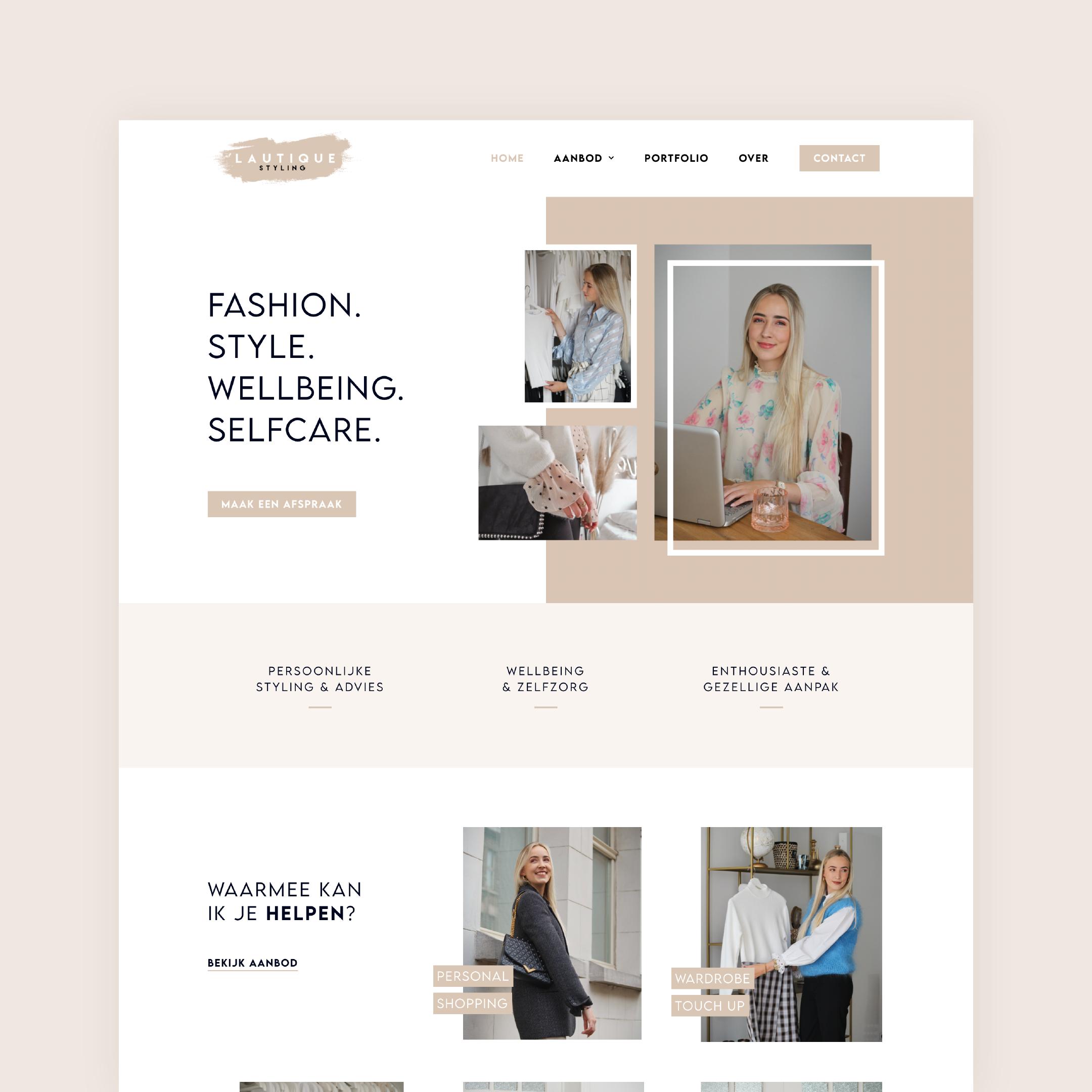Lautique Styling website