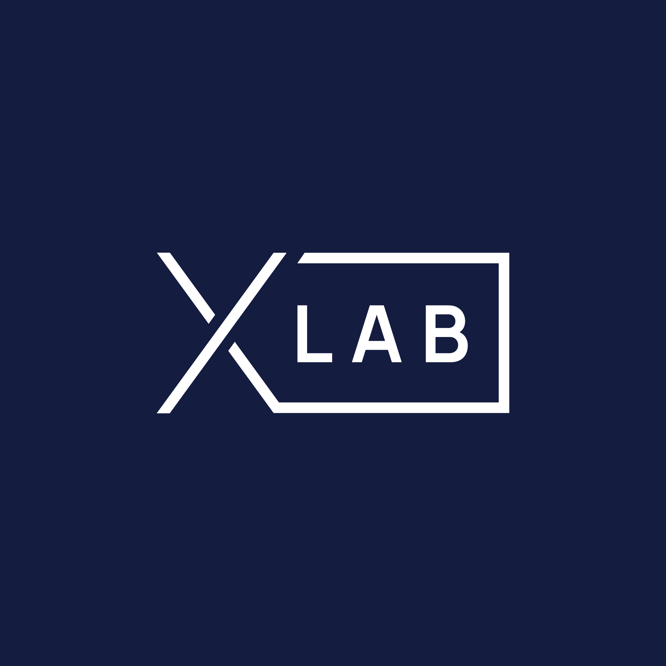 Logo Experience lab - Space blue