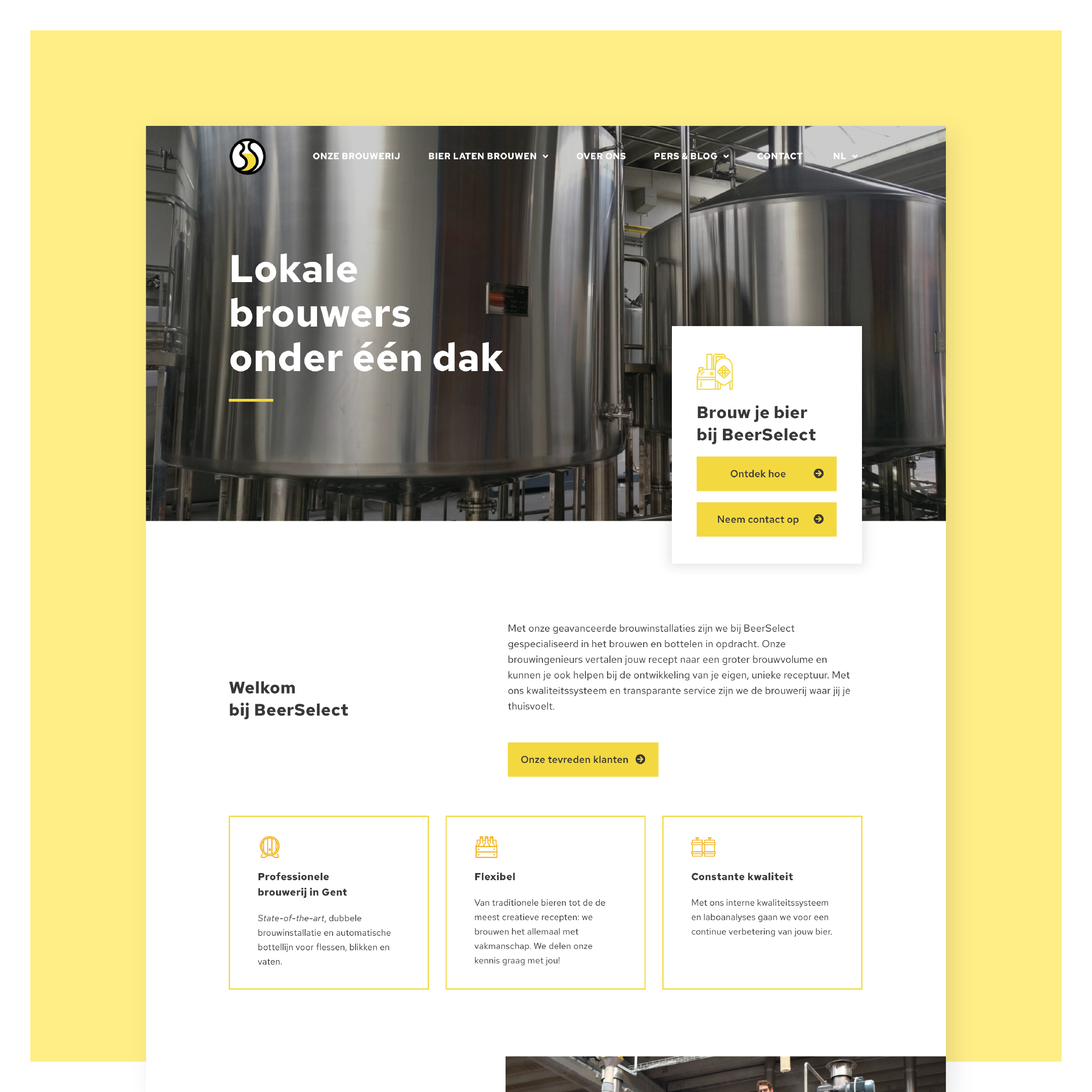 Website BeerSelect by LDS